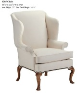 6205 wing chair