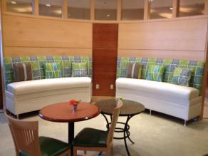 R A Mayo custom booth seating