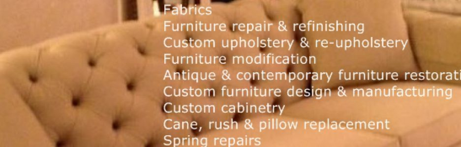 R A Mayo Industries  High Comfort Upholstery  Call or text in Pa