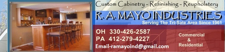 Mayo Ind.  Upholstering & Custom Cabinetry