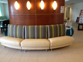 R A Mayo Circular booth seating