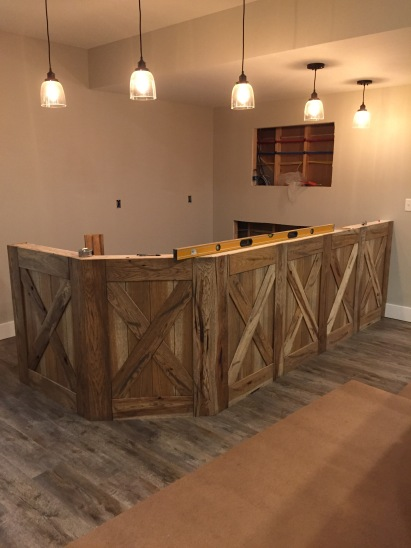 barn door counter